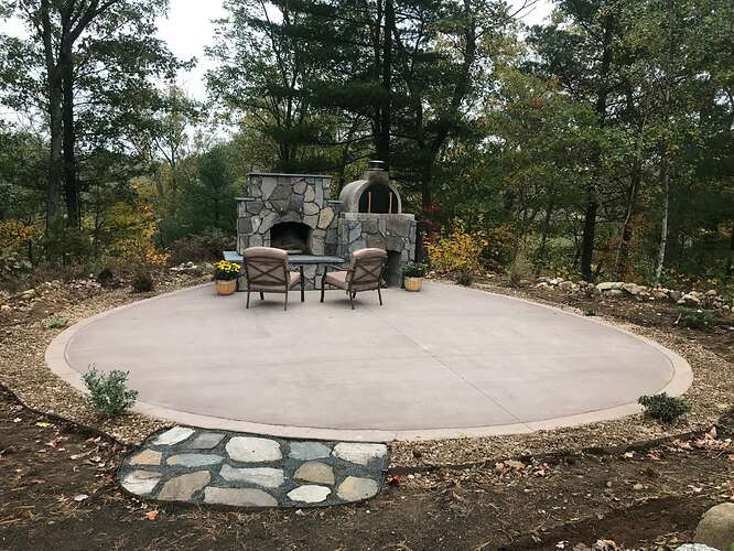 Small Outdoor Fireplace (11)