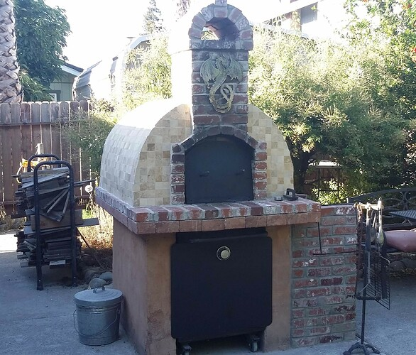 How To Make A Backyard Brick Pizza Oven (12)