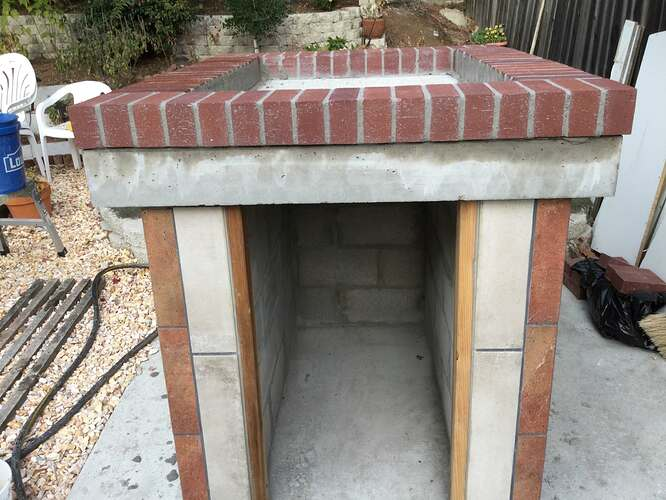 How To Make A Garden Pizza Oven (8)