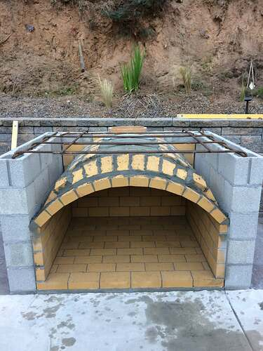 Pizza Oven Over Fireplace (3)