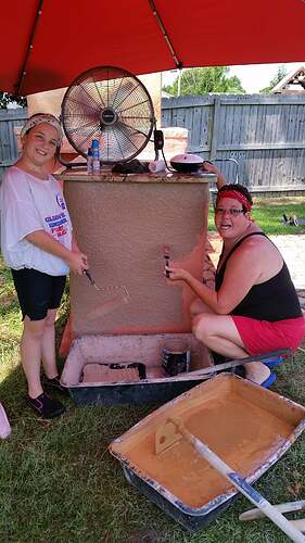 DIY Wood Fired Oven (31)