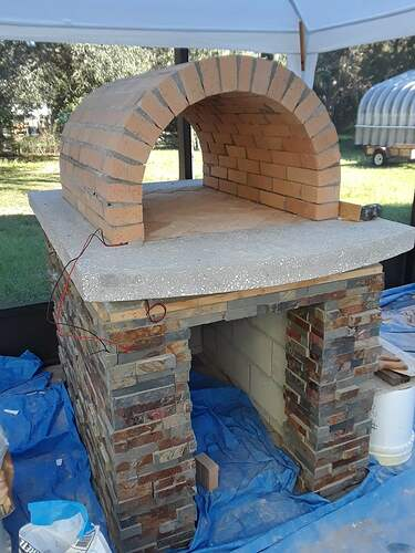 Building A Pizza Oven (117)