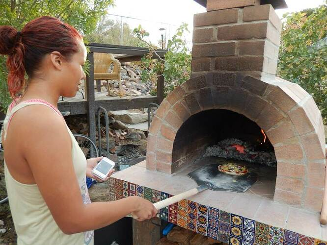 Build Your Own Brick Pizza Oven (42)