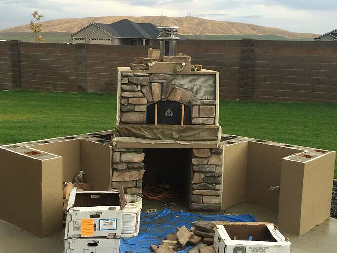 How To Build A Wood Fired Oven (29)