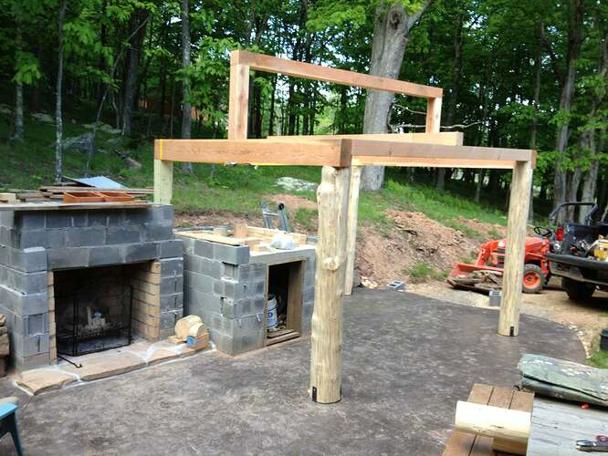 Outdoor Fireplace and Seating (9)