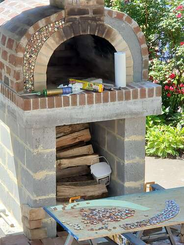 Home Wood Fired Pizza Oven (23)