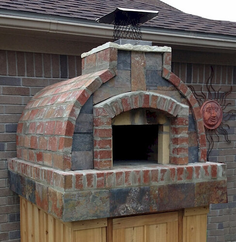 How To Make A Brick Pizza Oven (8)