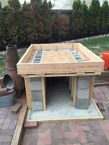 Homemade Outdoor Pizza Oven (13)