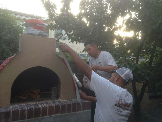 How To Build a Brick Pizza Oven (6)