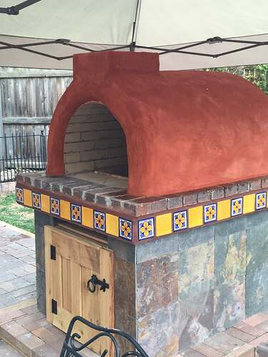 Homemade Outdoor Pizza Oven (39)
