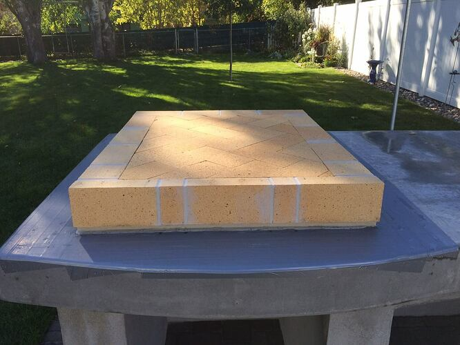 Building A Brick Pizza Oven From Scratch (45)