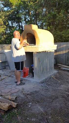 DIY Wood Fired Oven (23)