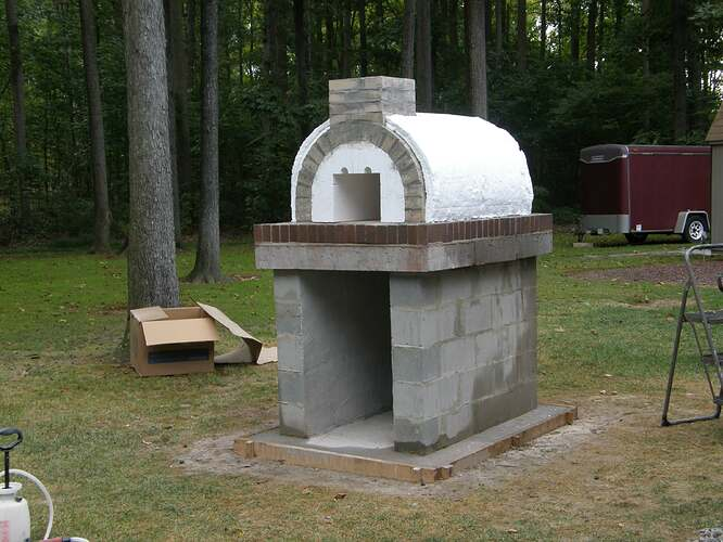 How To Make An Outdoor Pizza Oven (39)