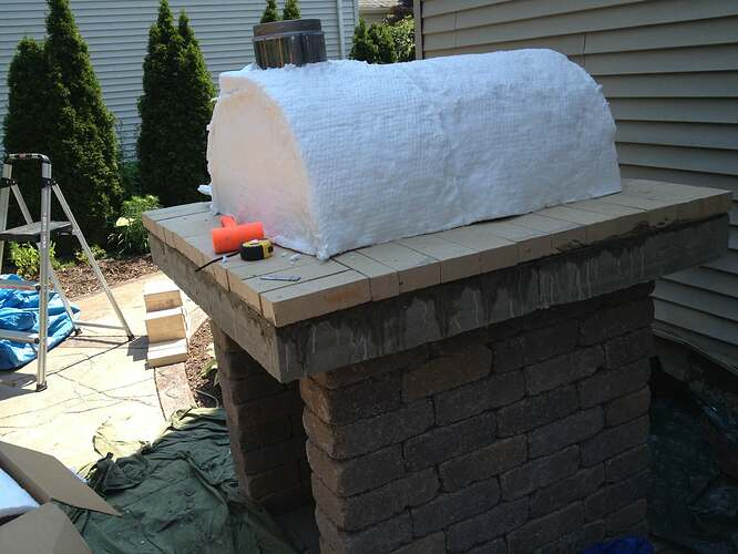 How To Build An Outdoor Brick Oven (68)