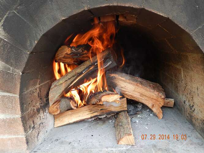 Build Your Own Brick Pizza Oven (47)