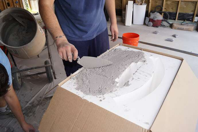Refractory Cement Pizza Oven (43)