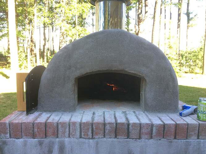 Do It Yourself Pizza Oven (27)