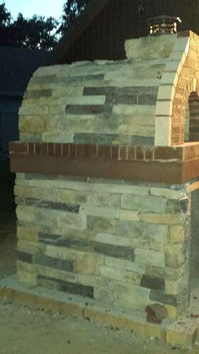 How To Make An Outdoor Pizza Oven (73)