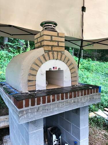 Large Outdoor Wood Burning Pizza Oven (19)