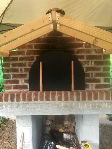 Large Outdoor Wood Burning Pizza Oven (20)