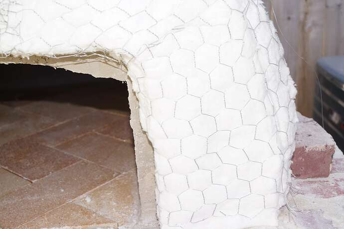 Refractory Cement Pizza Oven (107)