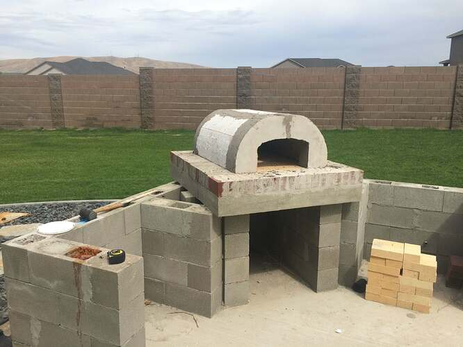 How To Build A Wood Fired Oven (21)