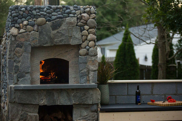 How To Build a Stone Pizza Oven (10)