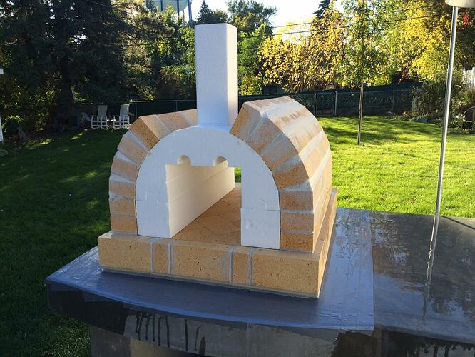 Building A Brick Pizza Oven From Scratch (46)