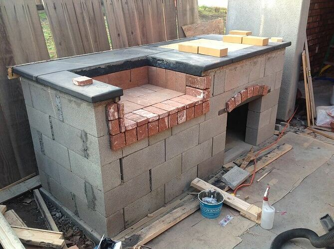 How To Build a Brick BBQ and Pizza Oven (5)