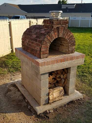 Making An Outdoor Oven (26)