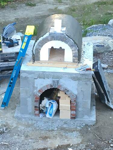 How To Build A Wood Fired Pizza Oven (53)
