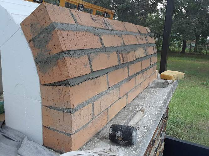 Building A Pizza Oven (98)