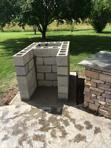 Making An Outdoor Pizza Oven (4)