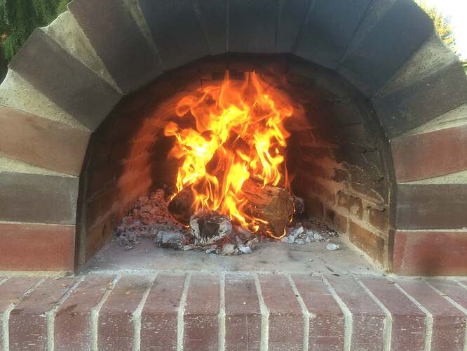 How To Make A Garden Pizza Oven (21)