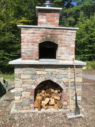 How To Build A Wood Fired Pizza Oven (64)