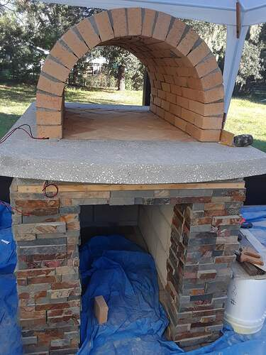 Building A Pizza Oven (121)
