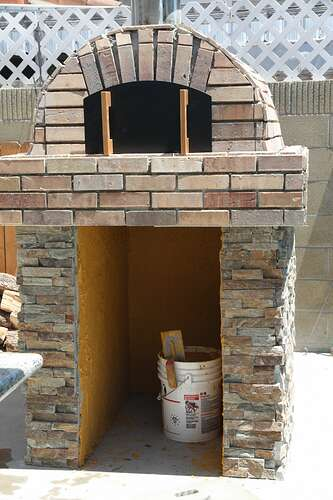 Outdoor Grill With Oven (33)