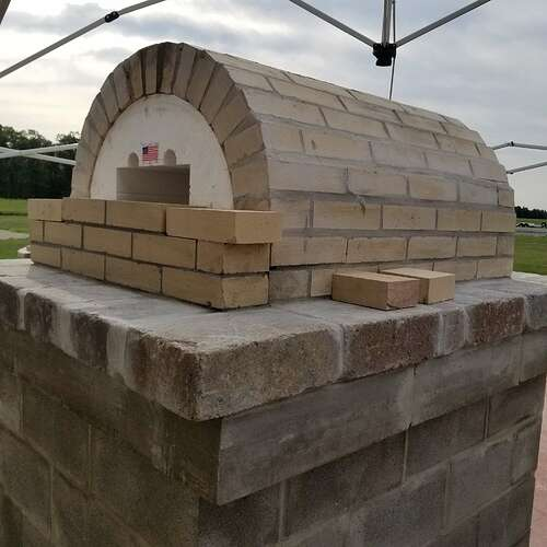 How To Make A Brick Oven (4)
