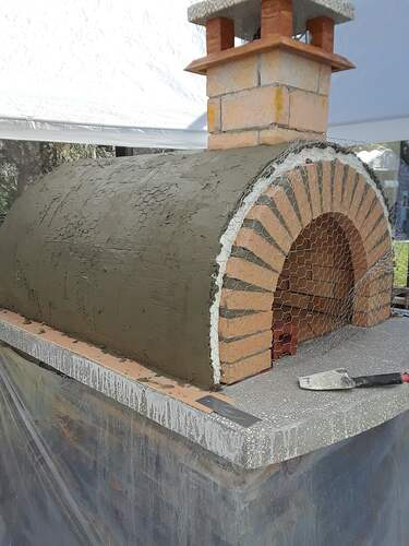Building A Pizza Oven (160)