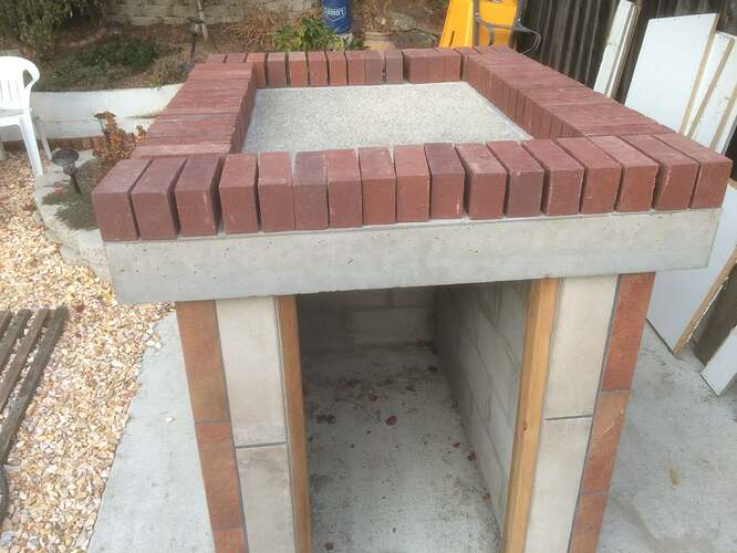 How To Make A Garden Pizza Oven (7)