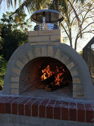 Building An Outdoor Oven (12)