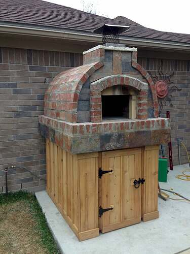 How To Make A Brick Pizza Oven