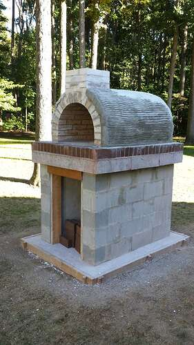 How To Make An Outdoor Pizza Oven (53)