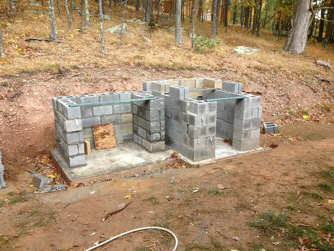 Outdoor Fireplace and Seating (1)