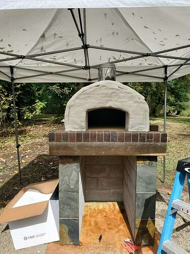 Outdoor Wood Burning Pizza Oven (19)