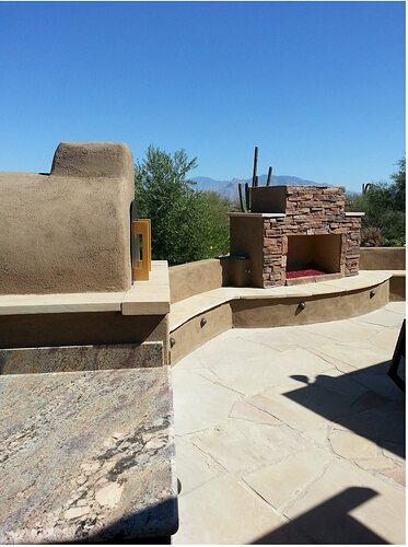 Outdoor Patio Fireplace (7)