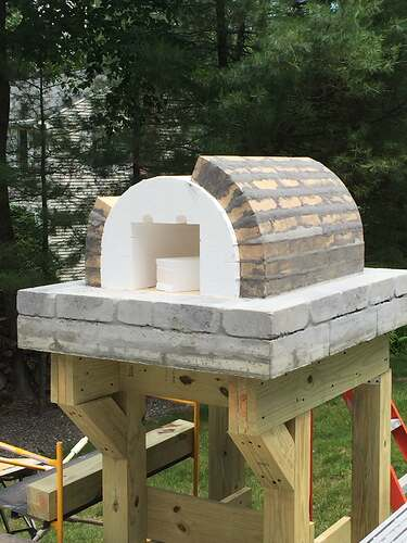 Building a Wood Fired Pizza Oven (15)