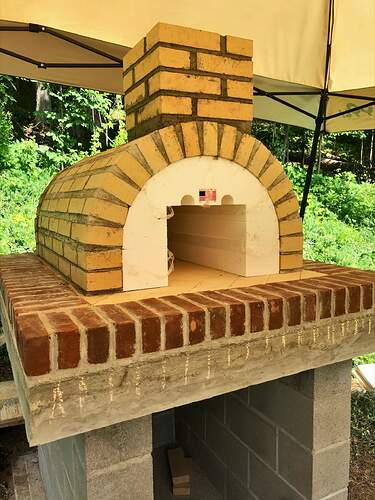 Large Outdoor Wood Burning Pizza Oven (12)
