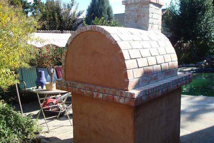 How To Make A Backyard Brick Pizza Oven (6)