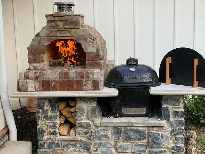 Pizza Oven Grill Combo